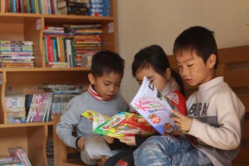 農村部における無料図書館 - ảnh 2