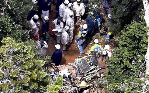 防災ヘリ墜落、新たに5人の死亡確認 不明の1人も発見 - ảnh 1