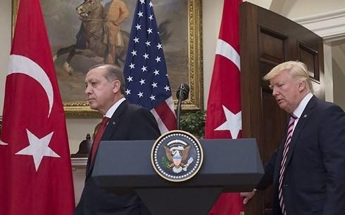 トルコ大統領 米有力紙に寄稿でトランプ政権非難 - ảnh 1