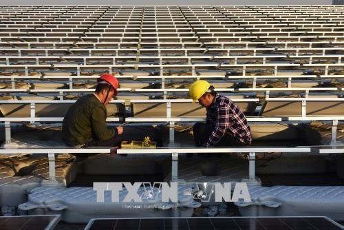 中国、太陽光発電製品へのセーフガードでアメリカをWTO提訴  - ảnh 1