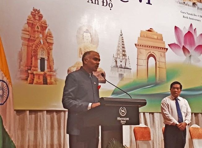 ハノイで、インド独立71周年記念式典が行われる - ảnh 1