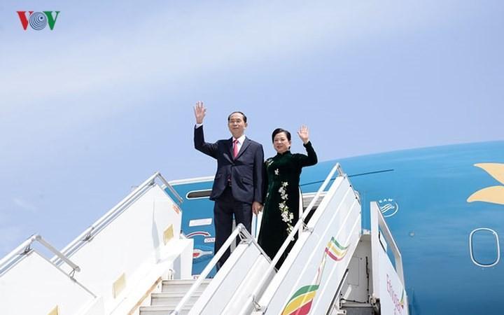 クアン国家主席、エチオピア訪問を終える - ảnh 1