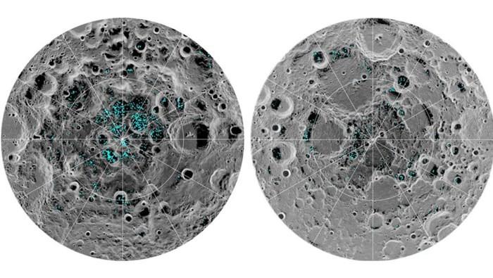 NASA、月面の氷を初観測 - ảnh 1