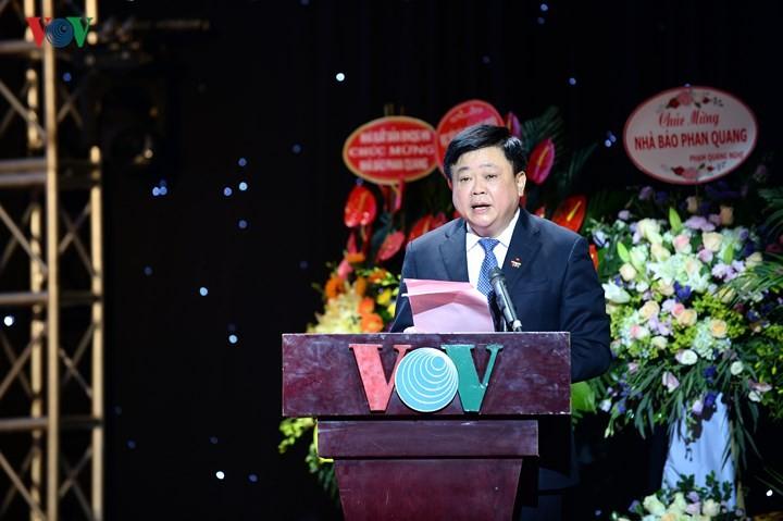 VOV開局73周年記念式典 - ảnh 1