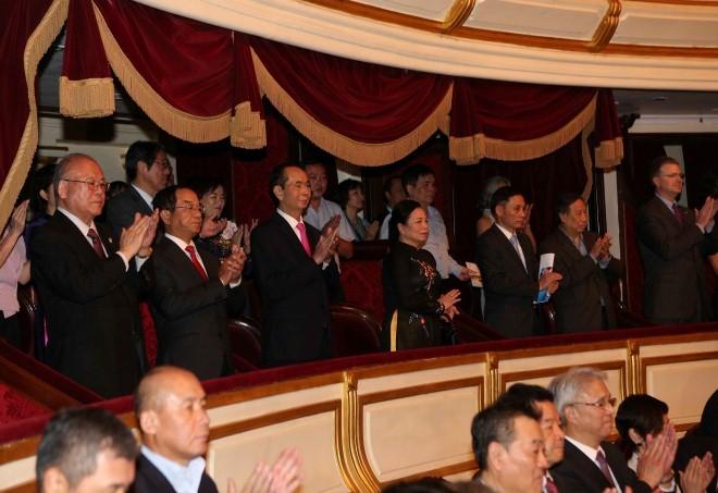クアン国家主席、日越国交樹立45周年を記念するコンサートに列席 - ảnh 1