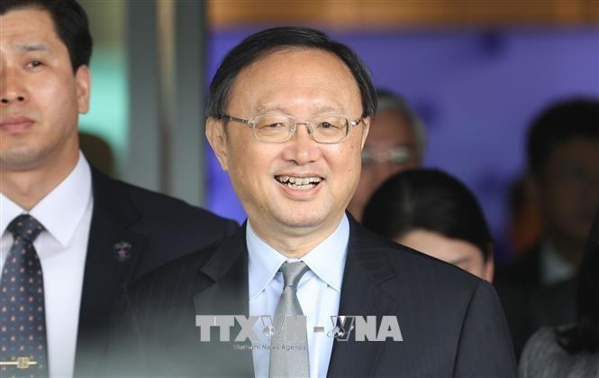 韓国 中国に朝鮮民主主義人民共和国のキム委員長との会談内容説明 - ảnh 1
