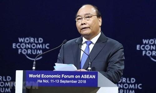国際社会参入へ取組むASEANに有利な条件を作るWEF ASEAN 会議 - ảnh 1