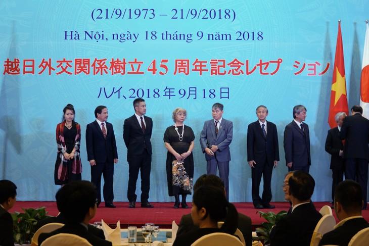 越日外交関係樹立45周年記念式典が行われる - ảnh 1
