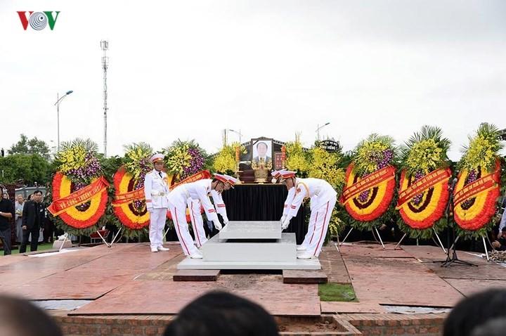 クアン国家主席の追悼式 - ảnh 3