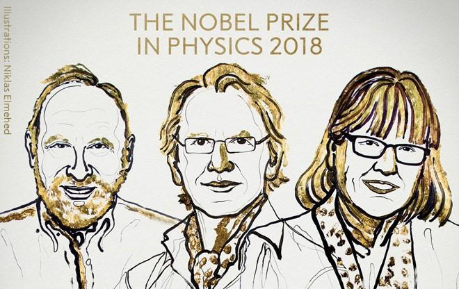 ノーベル物理学賞 レーザー物理学分野で授与 - ảnh 1