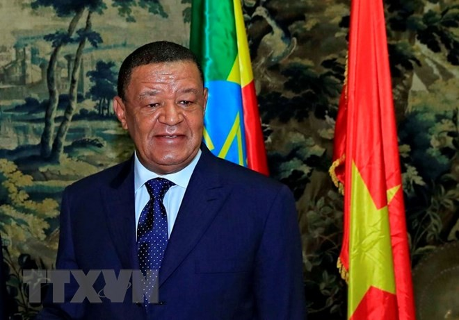エチオピア大統領、ベトナム大使館の再開を要請 - ảnh 1