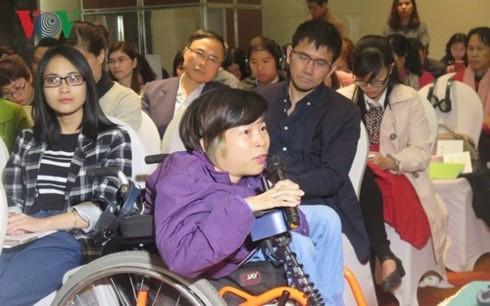 身体障がい者の平等な権利を確保 - ảnh 1