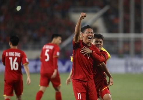外国メディア、ベトナム代表チームの勝利を伝える - ảnh 1
