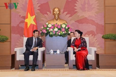 ミャンマー連邦団結発展党の代表団、ベトナムを訪問 - ảnh 1