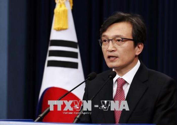 韓国政府 米朝会談「歓迎する」 非核化と制裁緩和に期待感 - ảnh 1