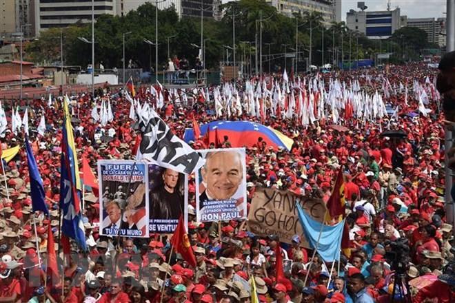 ベネズエラ情勢 中立国が緊急会合へ 平和的解決策を - ảnh 1