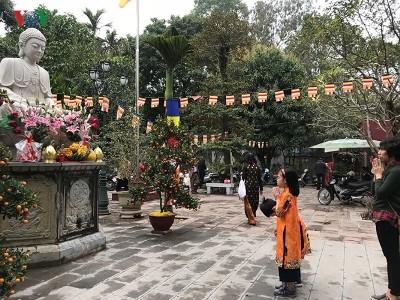 ベトナム人のテト明けにお寺参りをする習慣 - ảnh 2