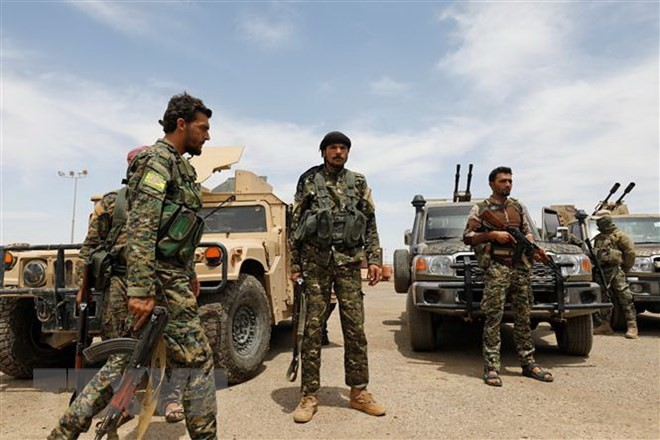 ISの最終拠点、数日以内に制圧 シリア民主軍が見通し - ảnh 1