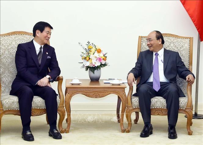 フック首相、千葉県知事と会見 - ảnh 1