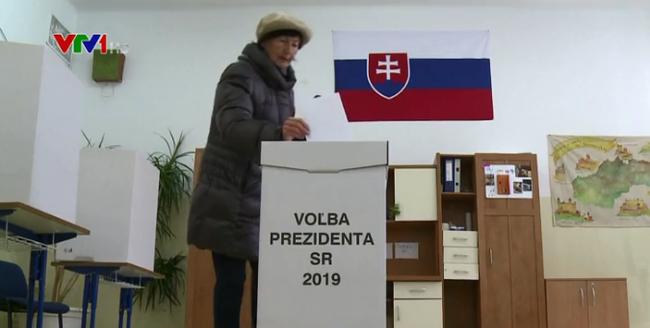 斯洛伐克总统选举举行 - ảnh 1