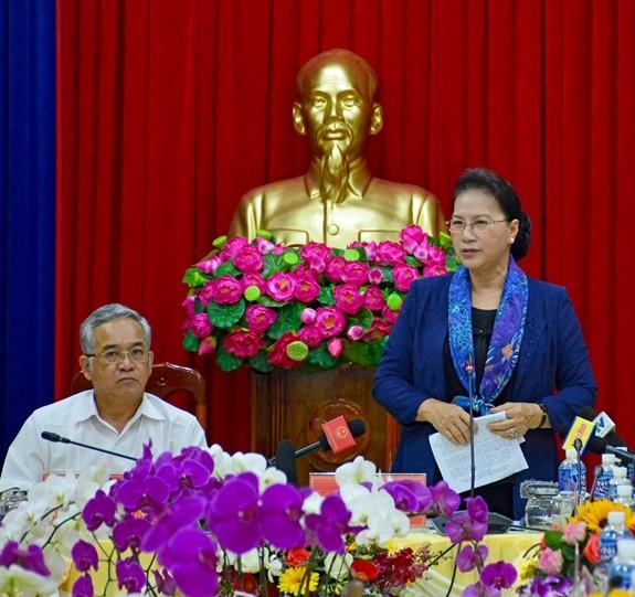 ガン国会議長、コントゥム省を訪問 - ảnh 1