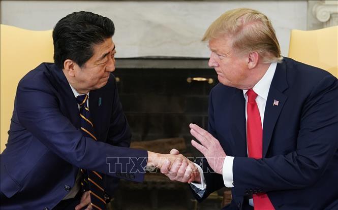 日米首脳会談 朝鮮半島非核化へ連携確認 貿易交渉加速で一致 - ảnh 1