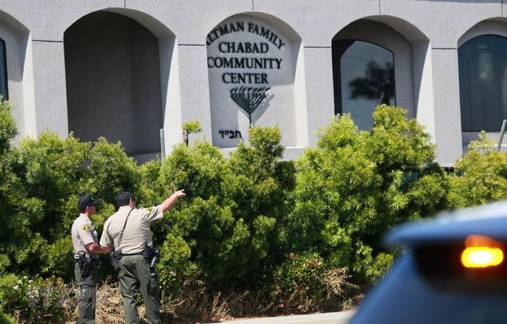 米 ユダヤ教礼拝所で銃乱射1人死亡 ヘイトクライムか - ảnh 1
