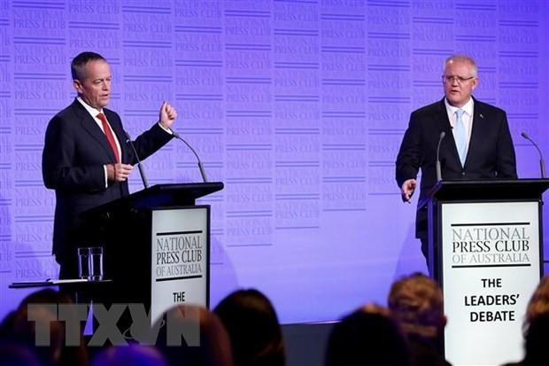 オーストラリア議会選挙投票始まる 6年ぶり政権交代が焦点 - ảnh 1