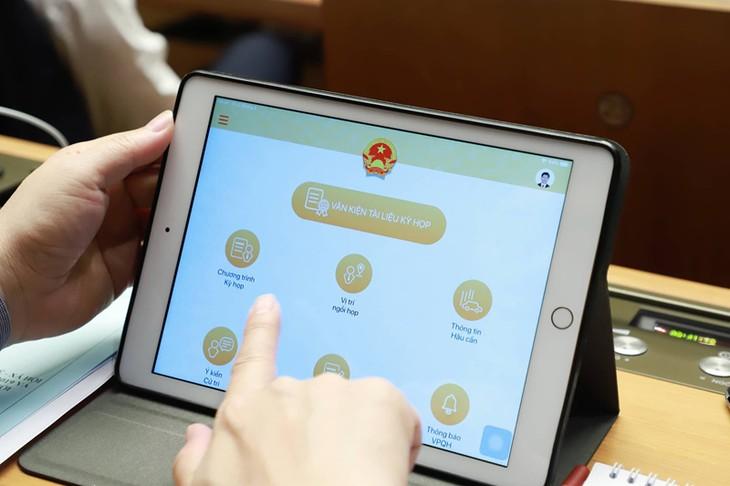 第7回国会:議会ICT化事業が始めて展開 - ảnh 1