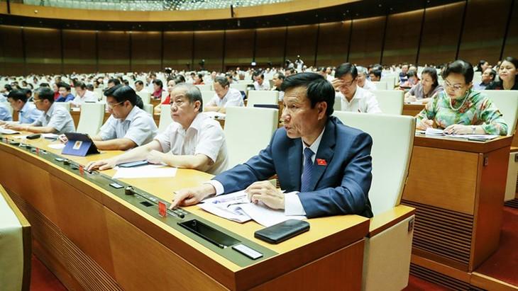 国会の国家予算の批准に関する決議可決 - ảnh 1