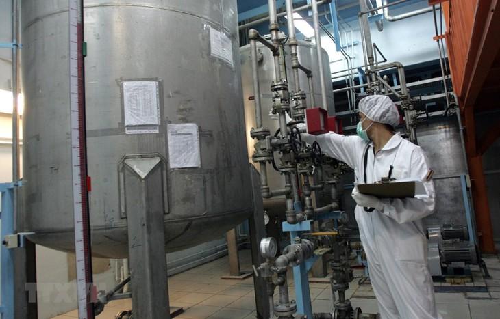 イラン、核合意維持巡り欧州・中ロと28日に協議 - ảnh 1