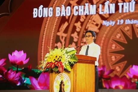 ダム副首相、チャム族の文化スポーツ観光祭りに出席 - ảnh 1
