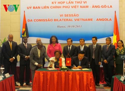 越南—安哥拉举行政府间合作委员会第六次会议 - ảnh 1