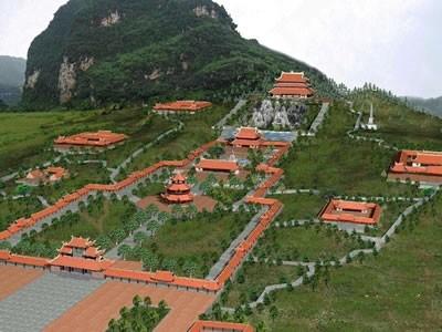 宁平省的虔灵旅游区—拜订寺建筑群 - ảnh 1