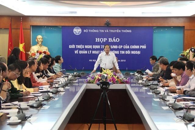 越南加强对外信息活动管理 - ảnh 1