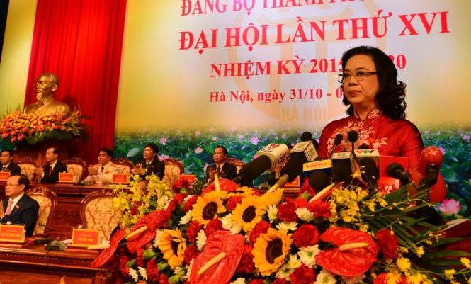 越共河内市第16届委员会共设4名副书记 - ảnh 1
