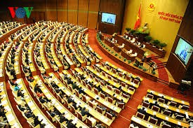 越南13届国会10次会议讨论社会经济发展情况 - ảnh 1
