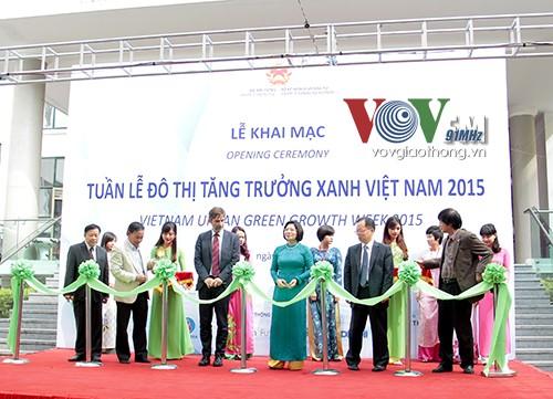 2015年越南绿色增长城市周开幕 - ảnh 1