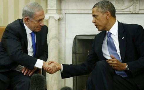 以总理内塔尼亚胡访美 承诺推进中东和平 - ảnh 1