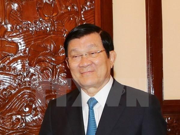 张晋创主席将出席菲律宾APEC峰会 - ảnh 1