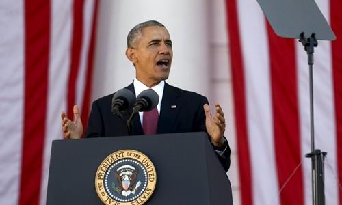 东海议题将贯穿美国总统奥巴马的整个访亚行程 - ảnh 1
