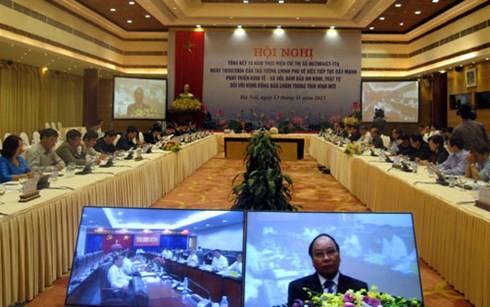 总结越南政府总理关于占族聚居区的指示落实10年情况 - ảnh 1