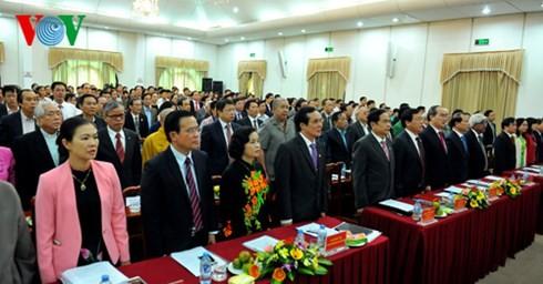 越南祖国阵线传统日85周年纪念大会在河内举行 - ảnh 1