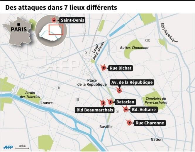 IS宣称对巴黎恐袭事件负责 - ảnh 1