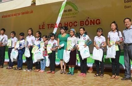 越南有关部门向少数民族学生颁发助学金 - ảnh 1