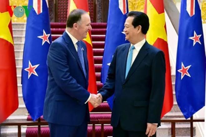 新西兰总理约翰•基圆满结束访越行程 - ảnh 1