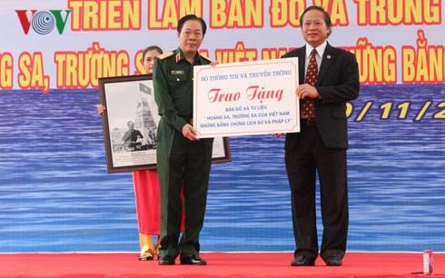 """""""黄沙长沙归属越南——历史和法理证据""""展在河内举行 - ảnh 1"""