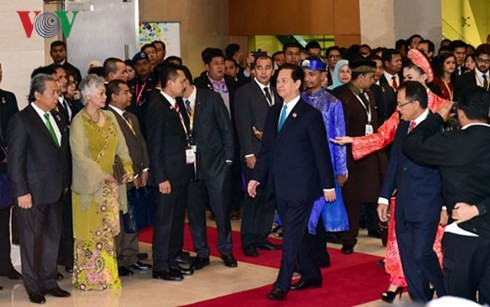 越南政府总理阮晋勇出席第27届东盟峰会开幕式和全体会议 - ảnh 2