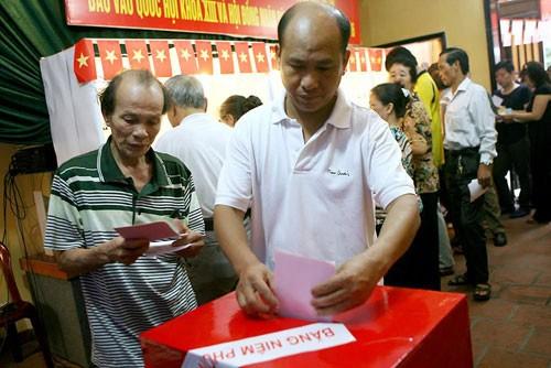 越南14届国会选举将于2016年5月22日举行 - ảnh 1