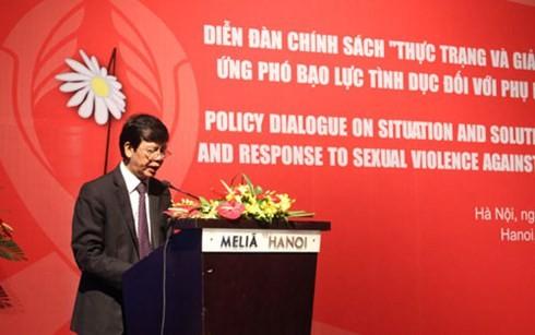 越南打击针对妇女与女童的性暴力行为 - ảnh 1